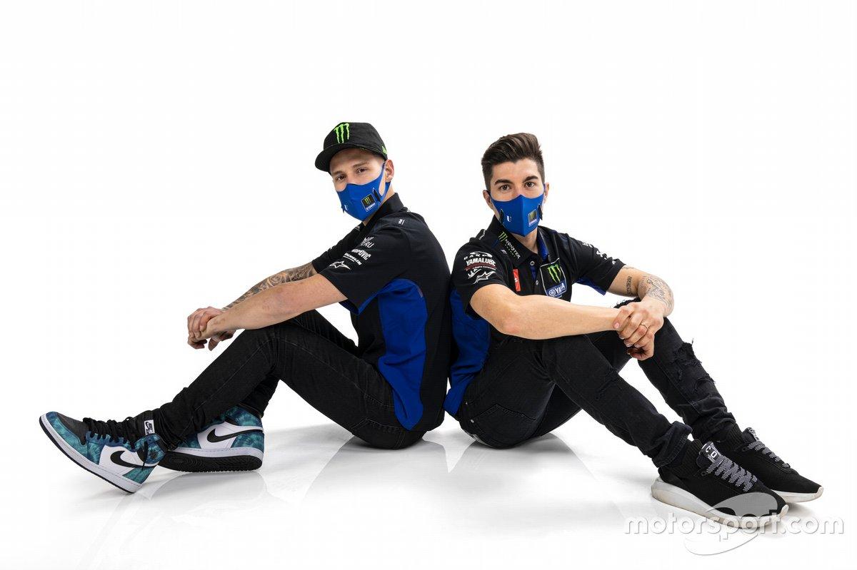 Fabio Quartararo, Yamaha Factory Racing, Maverick Vinales, Yamaha Factory Racing