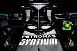 The Mercedes F1 W11
