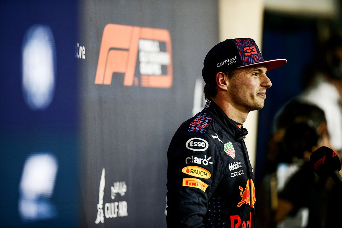 Il Polesitter Max Verstappen, Red Bull Racing
