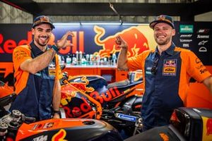 Miguel Oliveira, Red Bull KTM Factory Racing et Brad Binder, Red Bull KTM Factory Racing