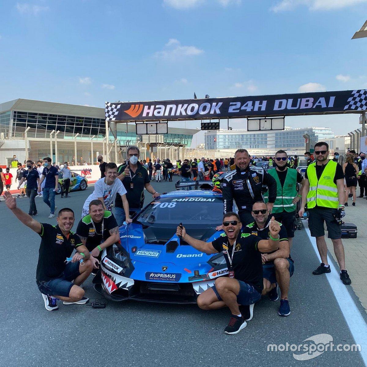 #708 GT3 Poland - Rafał Mikrut, Grzegorz Moczulski, Andrzej Lewandowski, Paweł Kowalski, Bartosz Opioła, Lamborghini Huracán Super Trofeo