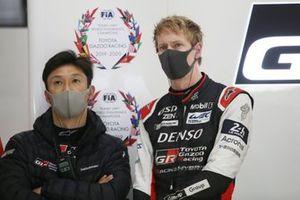 #8 Toyota Gazoo Racing Toyota GR010 - Hybrid: Kazuki Nakajima, Brendon Hartley