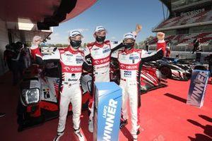 Race winner #41 Team WRT Oreca 07 - Gibson: Louis Delétraz, Robert Kubica, Yifei Ye