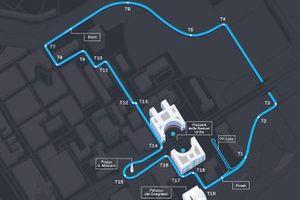 Rome ePrix track layout