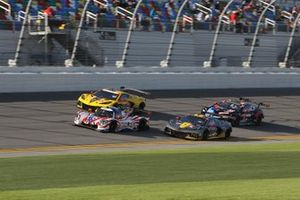 #31 Action Express Racing Cadillac DPi: Chase Elliott, Felipe Nasr, Pipo Derani, Mike Conway, #4 Corvette Racing Corvette C8.R, GTLM: Tommy Milner, Nick Tandy, Alexander Sims, #3 Corvette Racing Corvette C8.R, GTLM: Antonio Garcia, Jordan Taylor, Nicky Catsburg, #24 BMW Team RLL BMW M8 GTE, GTLM: John Edwards, Jesse Krohn, Augusto Farfus, Marco Wittmann