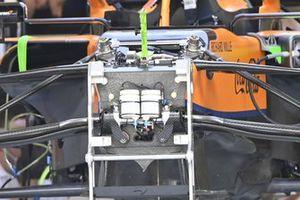 Detalle del McLaren MCL35M