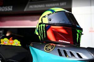 Helm: Valentino Rossi, Petronas Yamaha SRT