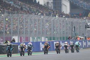 Lorenzo Dalla Porta, Leopard Racing leads