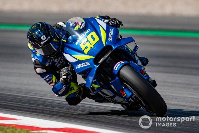 Sylvain Guintoli, Team Suzuki MotoGP - 1 caídas (wildcard)
