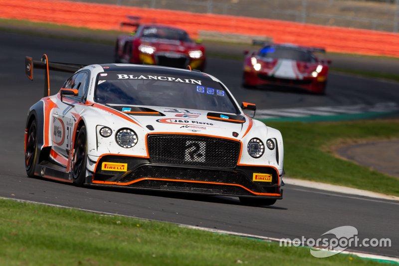 #31 Team Parker Racing Bentley Continental GT3: Derek Pierce, Rob Smith, Seb Morris