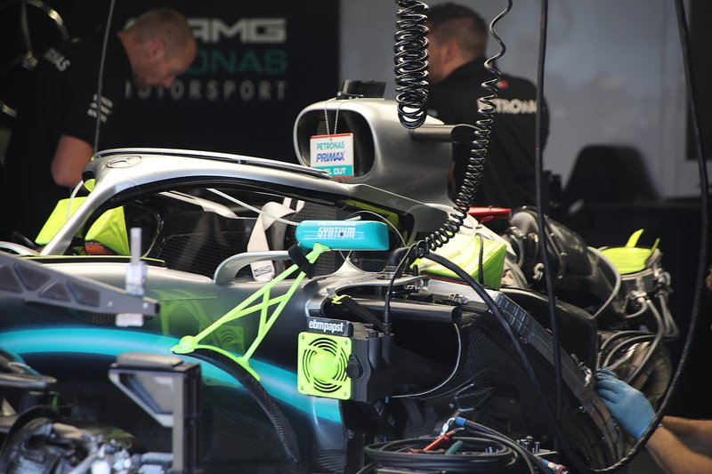 Mercedes AMG F1 W10, engine