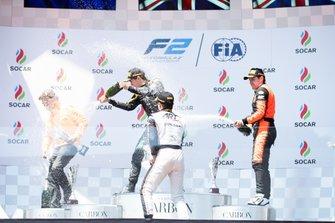 Джек Эйткен, Campos Racing, Ник де Врис, ART Grand Prix и Джордан Кинг, MP Motorsport