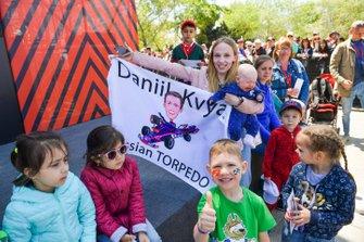 Des fans de Daniil Kvyat, Toro Rosso