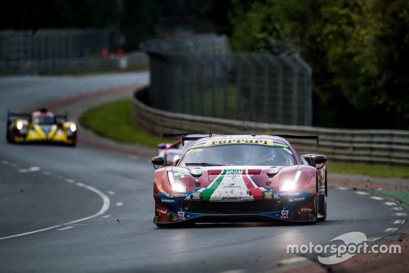 Daniel Serra, James Calado e Alessandro Pier Guidi - Ferrari AF CORSE #51