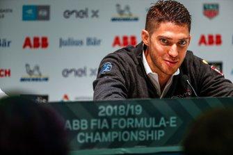 Edoardo Mortara, Venturi Formula E,in the press conference