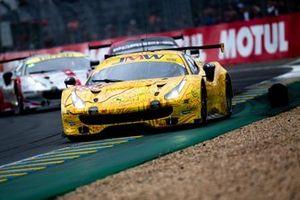 #84 JMW Motorsport, Ferrari 488 GTE: Jonathan Cocker, Jeff Segal, Wei Lu