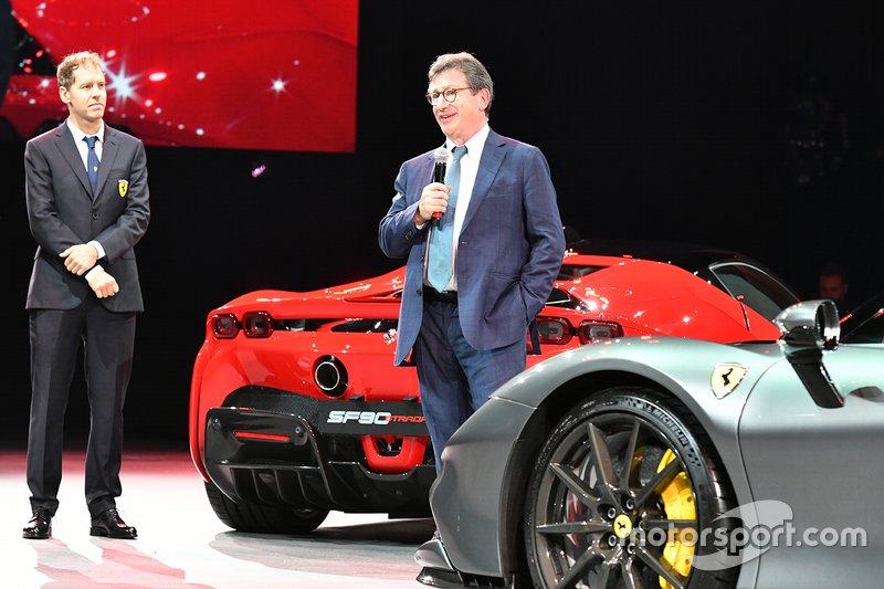 Ferrari SF90 Stradale, Vettel, Camilleri