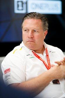 Zak Brown, Executive Director, McLaren