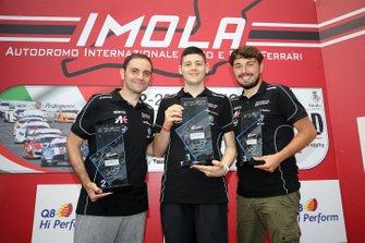 Santoro, Tonizza e Laurito sul podio della Porsche eSport Series