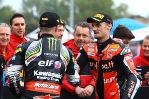 Jonathan Jonathan Rea, Kawasaki Racing Team, Chaz Davies, Aruba.it Racing-Ducati Team, World SBK