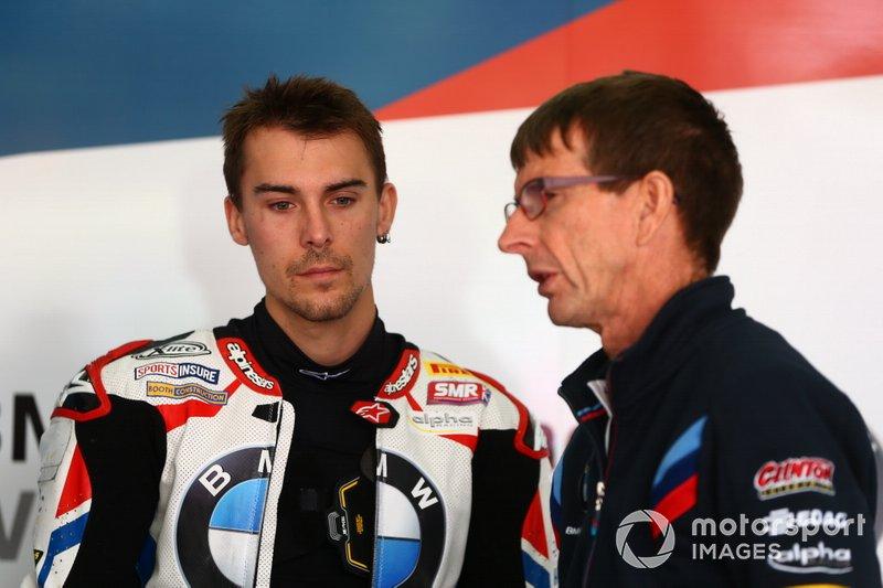Markus Reiterberger, BMW Motorrad WorldSBK Team, mit Pete Benson