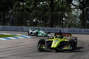 Sebastien Bourdais, Dale Coyne Racing with Vasser-Sullivan Honda, Colton Herta, Harding Steinbrenner Racing Honda
