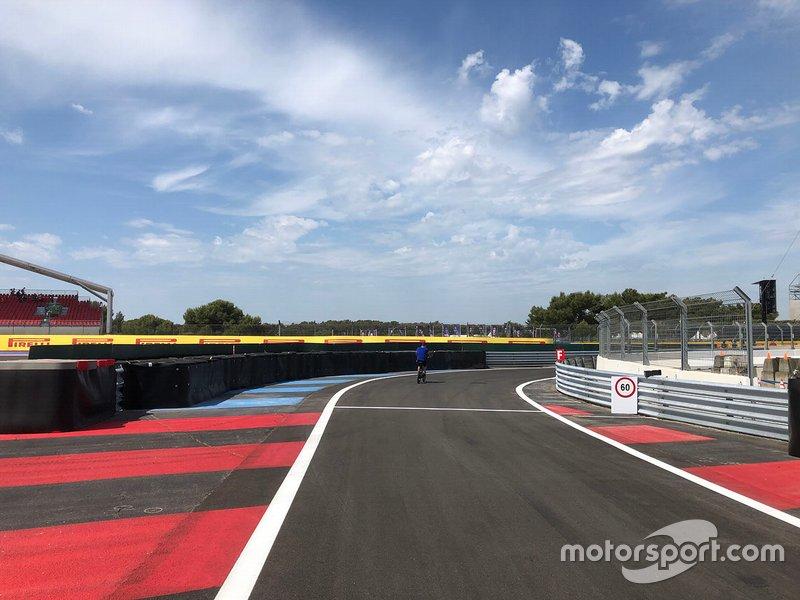 Nova entrada dos boxes em Paul Ricard