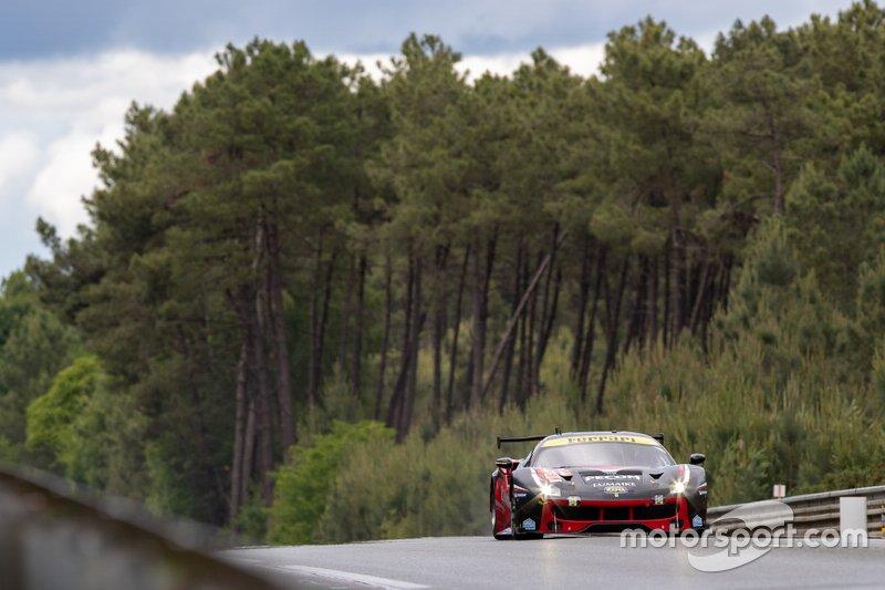 #61 Clearwater Racing Ferrari 488 GTE: Matthew Griffin, Luis Perez Companc, Matteo Cressoni
