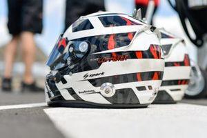 Helmet of Andre Lotterer