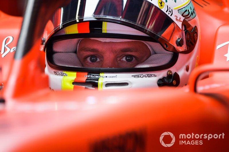 3 місце — Себастьян Феттель, Ferrari. Умовний бал — 29,17