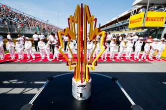 Trophy on the grid