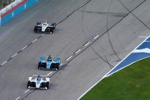 Felix Rosenqvist, Chip Ganassi Racing Honda, Conor Daly, Carlin Chevrolet