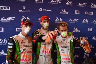 Mathias Beche, Gustavo Menezes, Thomas Laurent, Rebellion Racing