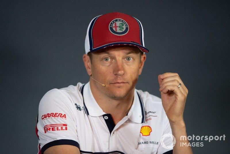 """De milyen volt odakint, miket tapasztaltál? Räikkönen: """"Nem volt túl jó."""""""