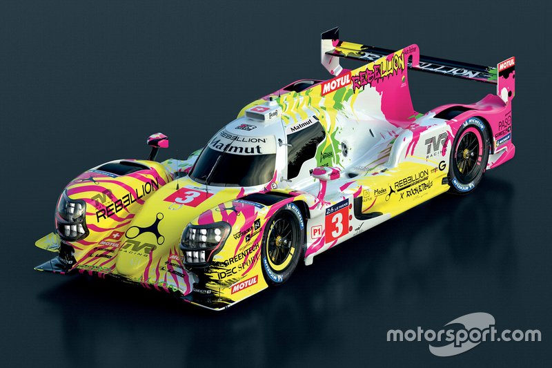 LMP1: #3 Rebellion Racing, Rebellion-Gibson R13