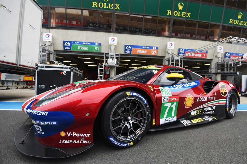 №71 Ferrari 488 GTE EVO
