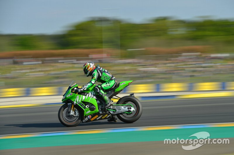 #11 Kawasaki: Jeremy Guarnoni, David Checa, Erwan Nigon