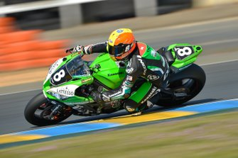 #8 Kawasaki: Roman Stamm, Sébastien Suchet, Nigel Walraven