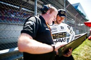 Romain Grosjean, Haas F1, sur la grille