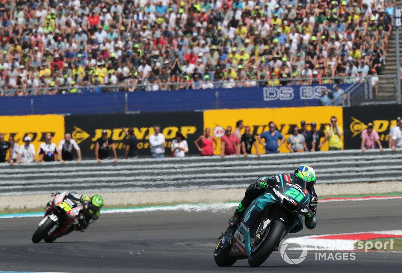 Morbidelli en el top 5