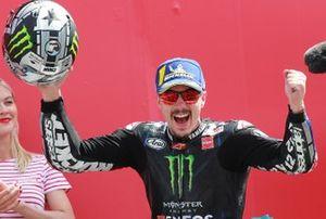 Podium : Maverick Vinales, Yamaha Factory Racing, vainqueur