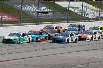 Joey Logano, Team Penske, Ford Mustang MoneyLion Brad Keselowski, Team Penske, Ford Mustang Snap on Alex Bowman, Hendrick Motorsports, Chevrolet Camaro Nationwide