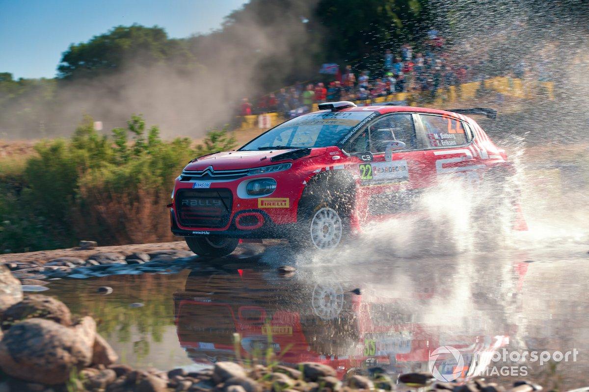 Mads Ostberg, Torstein Eriksen, TRT World Rally Team Citroen C3 Rally2
