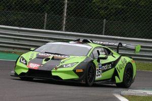 #351 Bonaldi Motorsport, Lamborghini Huracan Super Trofeo Evo: Daan Pijl, Fabio Vairani