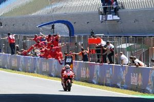Jack Miller, Ducati Team chequered flag