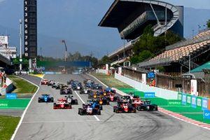 Enzo Fittipaldi, Charouz Racing System, David Schumacher, Trident, Matteo Nannini, HWA Racelab, Olli Caldwell, Prema Racing