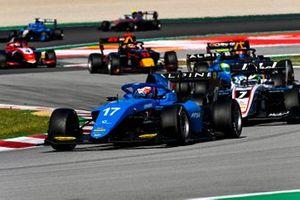 Victor Martins, MP Motorsport, Frederik Vesti, ART Grand Prix, Caio Collet, MP Motorsport
