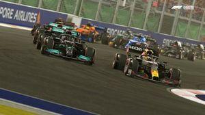 Capture d'écran de F1 2021
