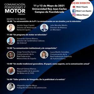 Comunicación, periodismo y motor: evento de Motorsport Network España y la Universidad Rey Juan Carlos, con SEAT y Supra