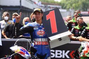 Il vincitore della gara Toprak Razgatlioglu, PATA Yamaha WorldSBK Team